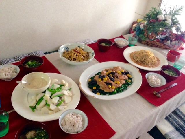 12月の「幸せ薫る喜びおうちごはん料理教室」<br />毎日のごはんクラス