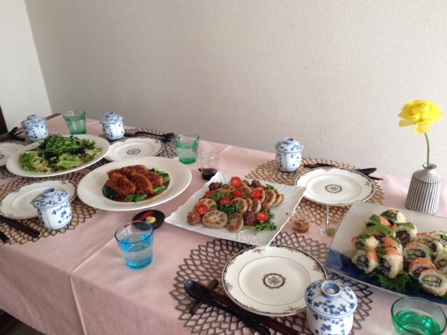 3月の「幸せ薫る喜びおうちごはん料理教室」<br />おもてなしクラス