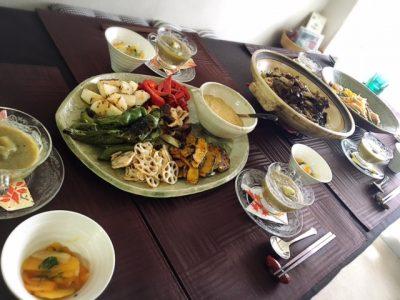 10月の【幸せ薫る喜びおうちごはん料理教室】<br/>おうちでおもてなしクラス