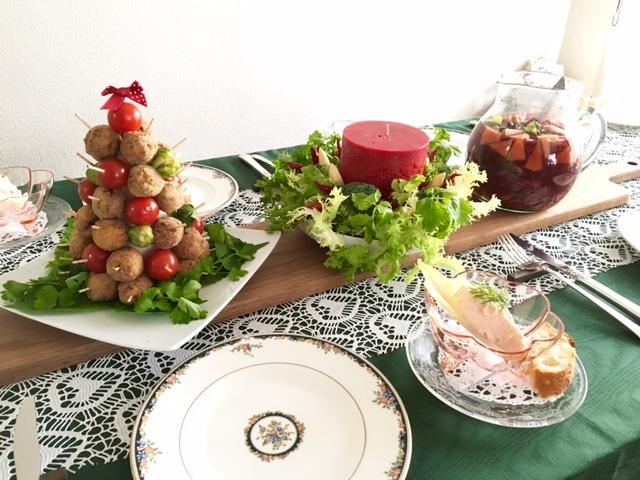 12月の【幸せ薫る喜びおうちごはん料理教室】    <br/>おうちでおもてなしクラス