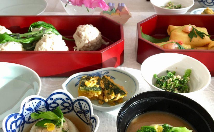 2月の【幸せ薫る喜びおうちごはん料理教室】 <br/>  おうちでおもてなしクラス