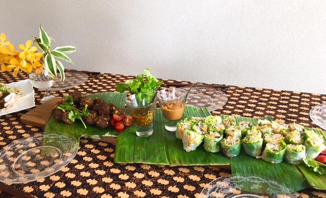 7月の【幸せ薫る喜びおうちごはん料理教室】 <br/>  おうちでおもてなしクラス