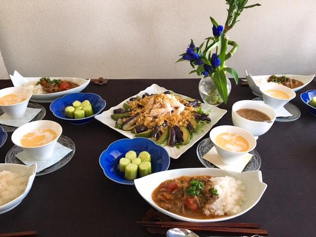 7月の【幸せ薫る喜びおうちごはん料理教室】  <br/> 毎日のごはんクラス