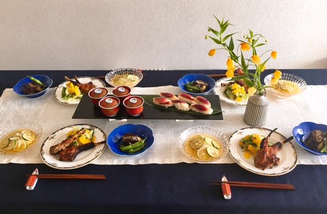 8月の【幸せ薫る喜びおうちごはん料理教室】<br/> おうちでおもてなしクラス
