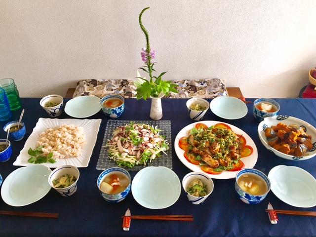 8月の【幸せ薫る喜びおうちごはん料理教室】<br/> 毎日のごはんクラス