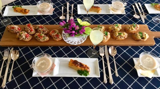 10月の【幸せ薫る喜びおうちごはん料理教室】<br/> おうちでおもてなしクラス