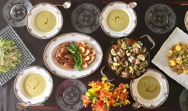 11月の【幸せ薫る喜びおうちごはん料理洋室】 <br/>おうちでおもてなしクラス
