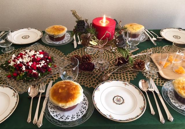 12月の【幸せ薫る喜びおうちごはん料理教室】  <br/>おもてなしクラス