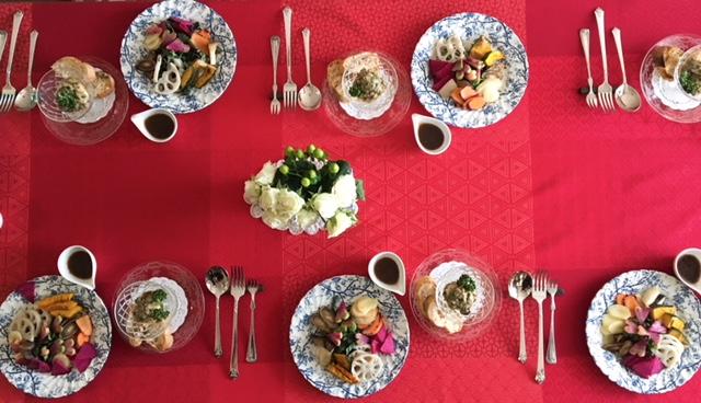 2月の「幸せ薫る喜びおうちごはん料理教室」<br/> おもてなしクラス