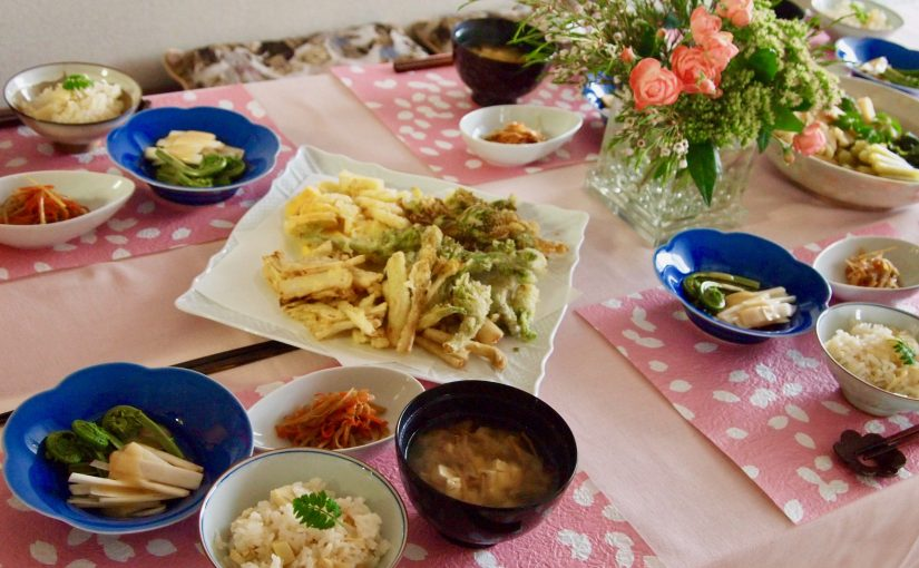 4月の『幸せ薫る喜びおうちごはん料理教室』<br/>おうちごはんベーシッククラス