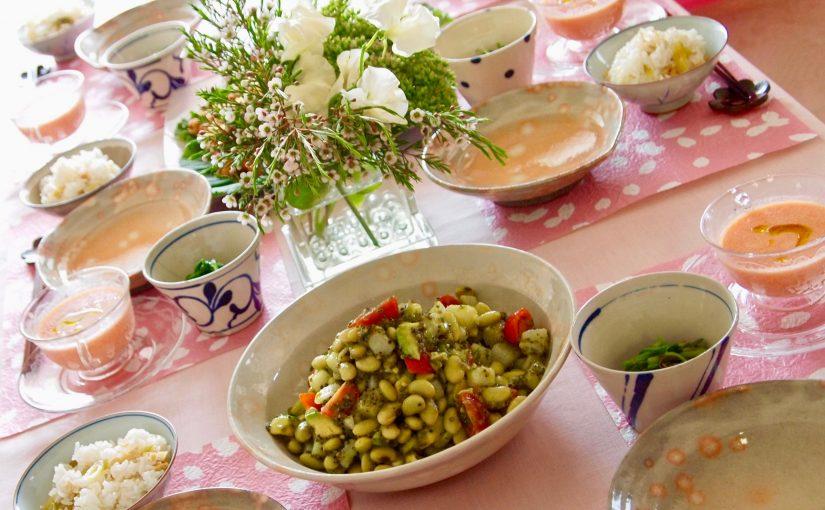 4月の『幸せ薫る喜びおうちごはん料理教室』<br/>毎日のごはんクラス