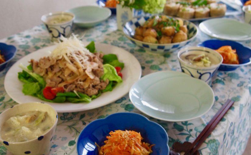 5月の『幸せ薫る喜びおうちごはん料理教室』<br/>毎日のごはんクラス
