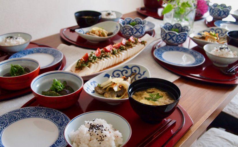 6月の『幸せ薫る喜びおうちごはん料理教室』<br/> おうちごはんベーシッククラス