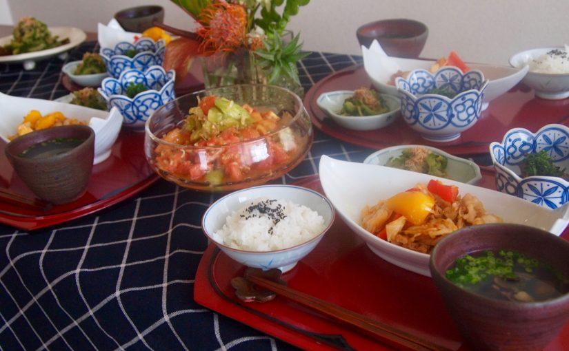 7月の『幸せ薫る喜びおうちごはん料理教室』 <br/> 毎日のごはんクラス