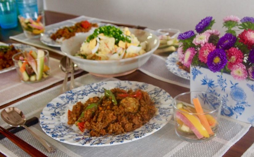 9月の『幸せ薫る喜びおうちごはん料理教室』<br/>おうちごはんベーシッククラス