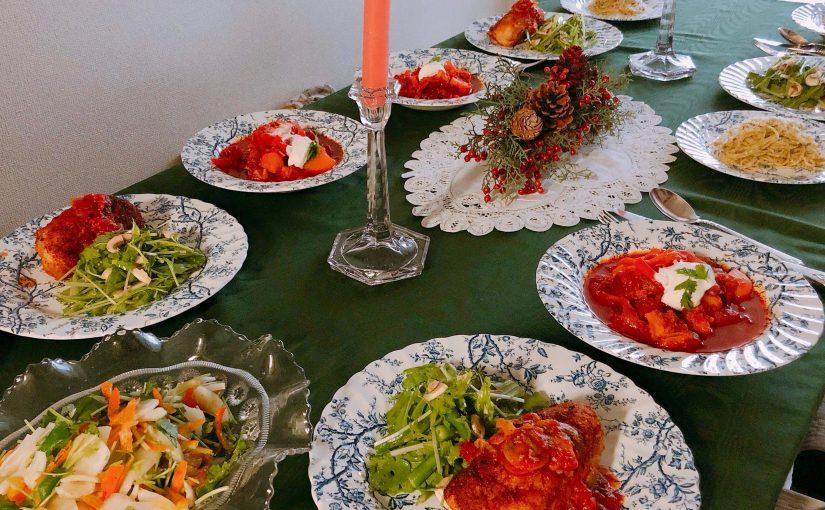 12月の『幸せ薫る喜びおうちごはん料理教室』<br/>毎日のごはんクラス
