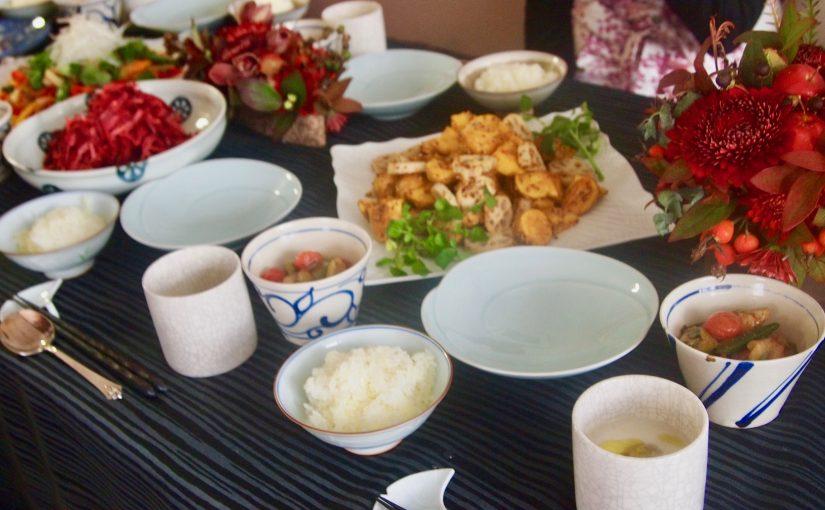 11月の『幸せ薫る喜びおうちごはん料理教室』<br/> 毎日のごはんクラス