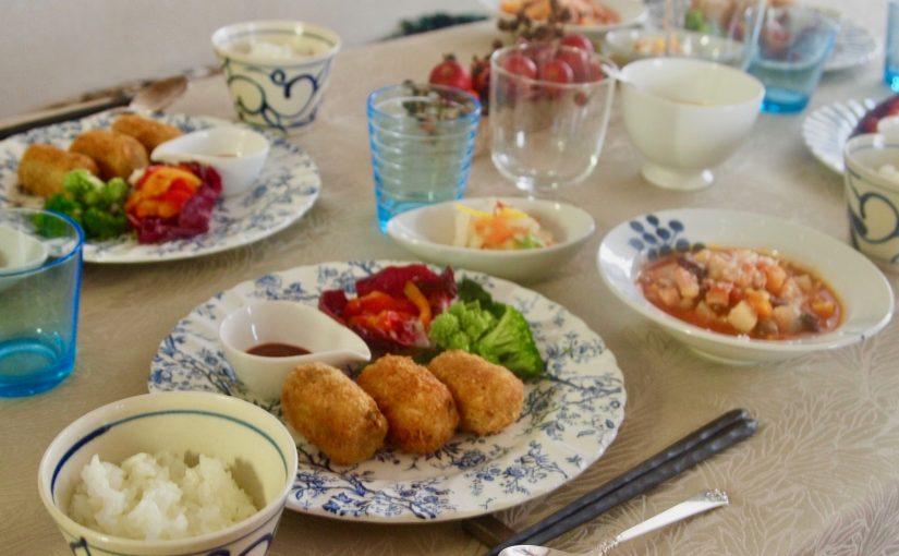 11月の『幸せ薫る喜びおうちごはん料理教室』<br/>おうちごはんベーシッククラス