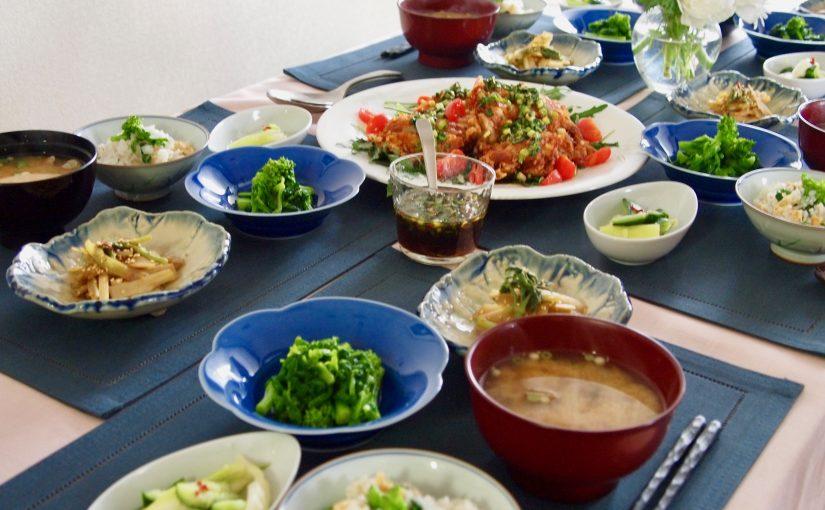3月の『幸せ薫る喜びおうちごはん料理教室』<br/>おうちごはんベーシッククラス