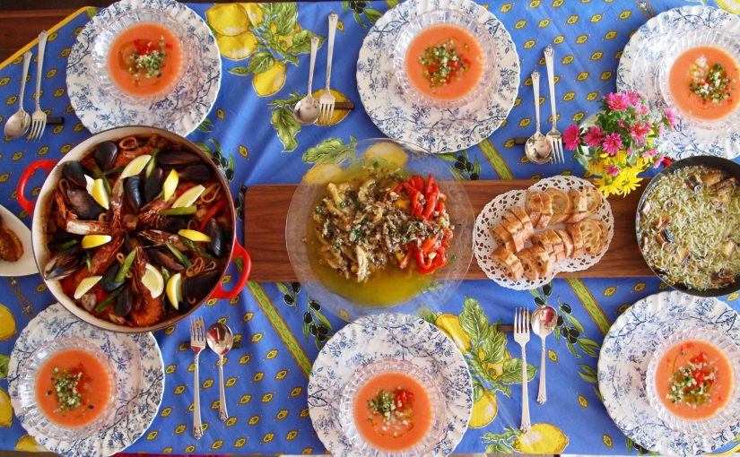 5月の「幸せ薫る喜びおうちごはん料理教室」<br/>おもてなしクラス&毎日のごはんクラス