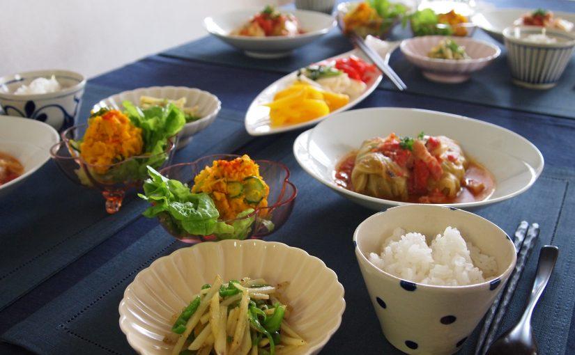 6月の「幸せ薫る喜びおうちごはん料理教室」<br/> おうちごはんベーシッククラス