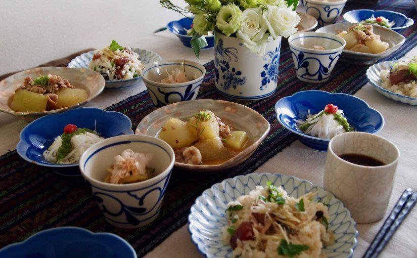 7月の「幸せ薫る喜びおうちごはん料理教室」<br/>毎日のごはんクラス
