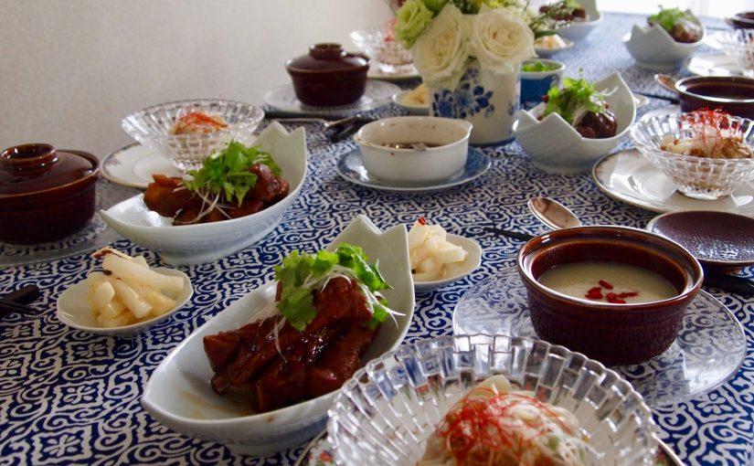 7月の「幸せ薫る喜びおうちごはん料理教室」<br/>おうちでおもてなしクラス