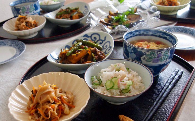 8月の『幸せ薫る喜びおうちごはん料理教室』おうちごはんベーシッククラス