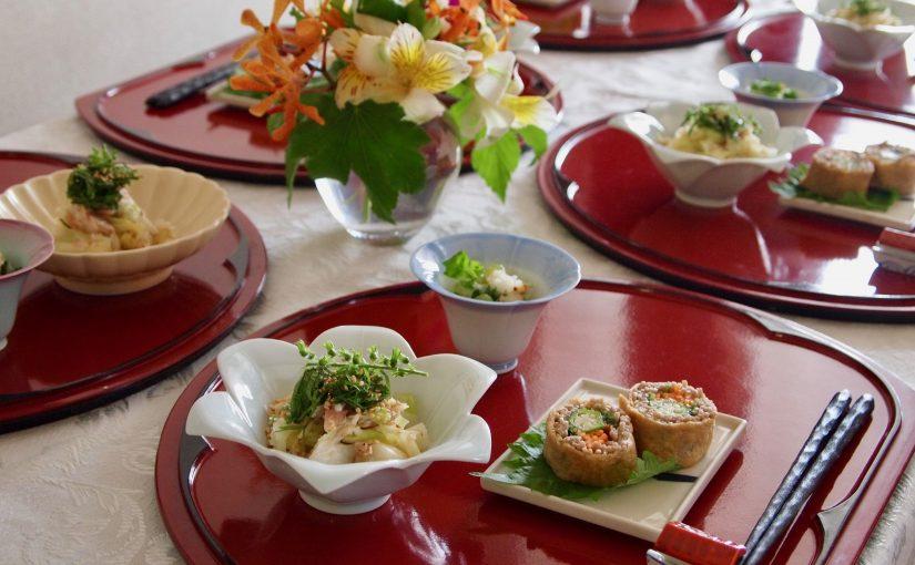 8月の『幸せ薫る喜びおうちごはん料理教室』 おうちでおもてなしクラス