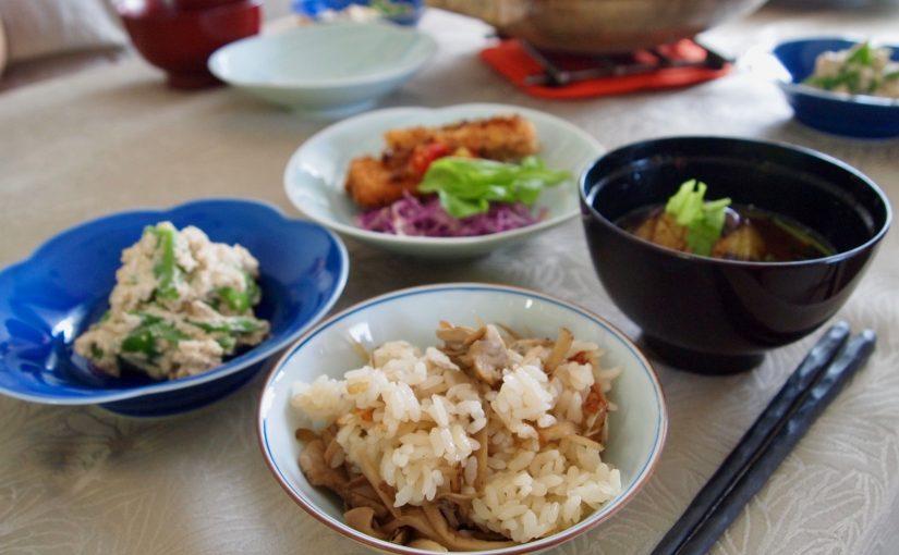 9月は精進料理!<br/> おうちごはんベーシッククラス
