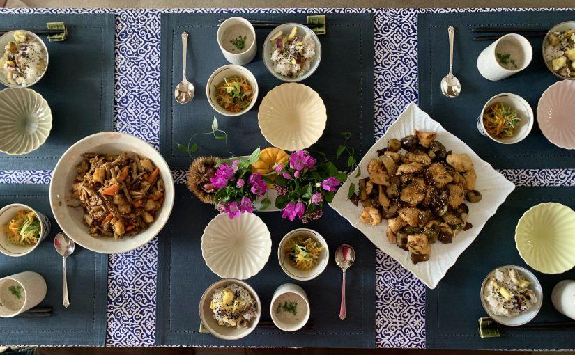 10月の「幸せ薫る喜びおうちごはん料理教室」<br/> 毎日のごはんクラス