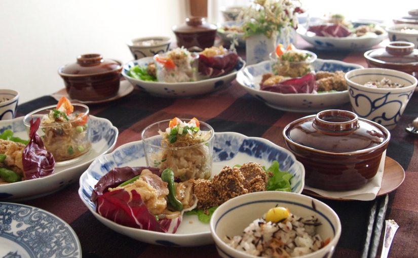 11月の『幸せ薫る喜びおうちごはん料理教室』<BR/>毎日のごはんクラス